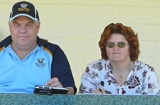 Pat and Colleen Culpan, scoring at Valley Cricket Club